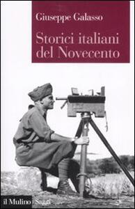 Storici italiani del Novecento - Giuseppe Galasso - copertina