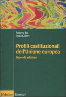 Warholgenova.it Profili costituzionali dell'Unione Europea Image