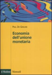 Amatigota.it Economia dell'unione monetaria Image