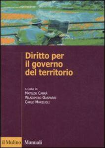 Libro Diritto per il governo del territorio