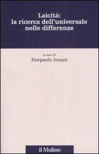 Libro Laicità: la ricerca dell'universale nelle differenze