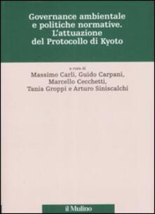Antondemarirreguera.es Governance ambientale e politiche governative. L'attuazione del protocollo di Kyoto Image