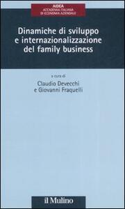 Dinamiche di sviluppo e internazionalizzazione del family business - copertina