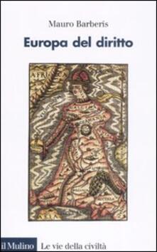 Europa del diritto - Mauro Barberis - copertina