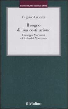 Aboutschuster.de Il sogno di una costituzione. Giuseppe Maranini e l'Italia del Novecento Image