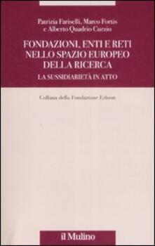 Fondazioni, enti e reti nello spazio europeo della ricerca. La sussidiarietà in atto.pdf