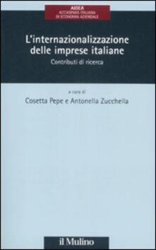 Rallydeicolliscaligeri.it L' internazionalizzazione delle imprese italiane. Contributi di ricerca Image