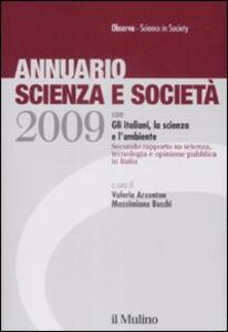 Annuario scienza e società (2009) - copertina