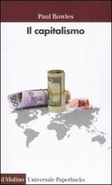 Il capitalismo - Paul Bowles - copertina