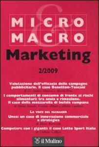 Micro & Macro Marketing (2009). Vol. 2 - copertina