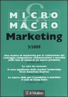 Ipabsantonioabatetrino.it Micro & Macro Marketing (2009). Vol. 3 Image