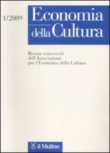 Economia della cultura (2009). Vol. 1.pdf