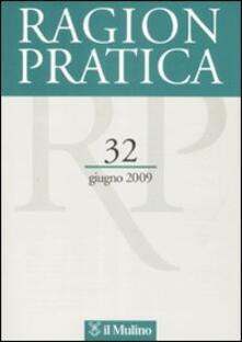 Grandtoureventi.it Ragion pratica (2009). Vol. 32 Image