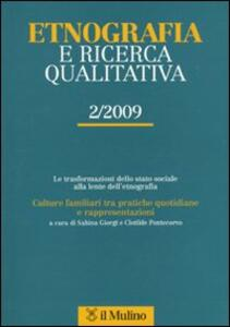 Etnografia e ricerca qualitativa (2009). Vol. 2 - copertina