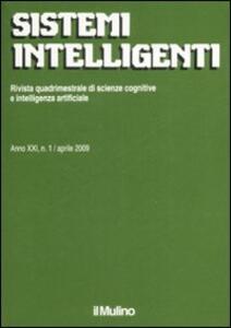 Sistemi intelligenti (2009). Vol. 1 - copertina
