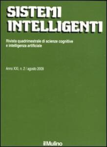 Sistemi intelligenti (2009). Vol. 2 - copertina