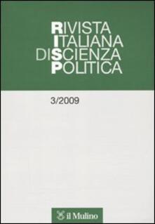 Amatigota.it Rivista italiana di scienza politica (2009). Vol. 3 Image