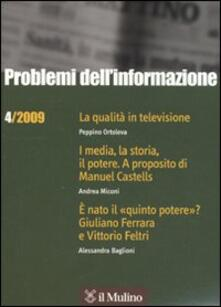 Milanospringparade.it Problemi dell'informazione (2009). Vol. 4 Image