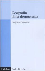 Geografia della democrazia - Eugenio Somani - copertina