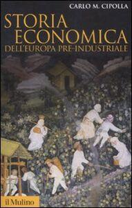 Libro Storia economica dell'Europa pre-industriale Carlo M. Cipolla