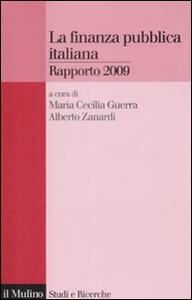 La finanza pubblica italiana. Rapporto 2009 - copertina