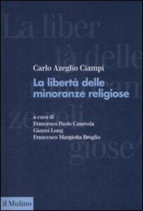 La libertà delle minoranze religiose in Italia - Carlo Azeglio Ciampi - copertina