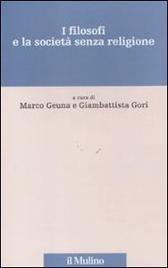 Libro I filosofi e la società senza religione