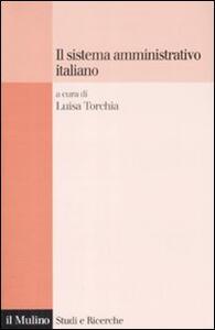 Il sistema amministrativo italiano - copertina