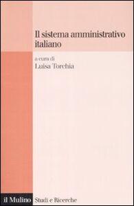Libro Il sistema amministrativo italiano
