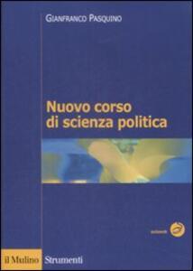 Nuovo corso di scienza politica - Gianfranco Pasquino - copertina