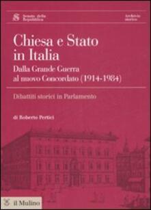 Voluntariadobaleares2014.es Chiesa e Stato in Italia dalla grande guerra al nuovo concordato (1914-1984). Con CD-ROM Image