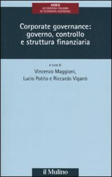 Amatigota.it Corporate governance: governo, controllo e struttura finanziaria Image