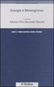 Libro Energia e Mezzogiorno