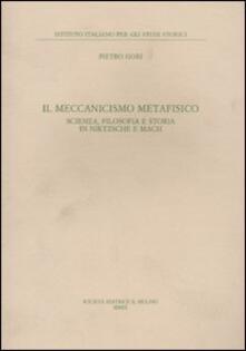 Squillogame.it Il meccanismo metafisico. Scienza, filosofia e storia in Nietzsche e Mach Image
