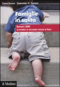 Famiglie in salita. Rapporto 2009 su povertà ed esclusione sociale in Italia - copertina