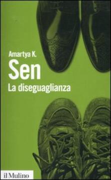 La diseguaglianza. Un riesame critico - Amartya K. Sen - copertina