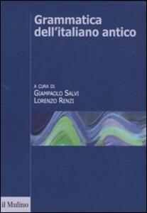 Grammatica dell'italiano antico - copertina