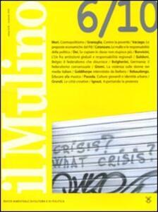 Il Mulino. Vol. 452 - copertina