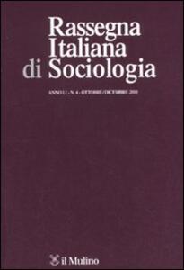 Rassegna di sociologia (2010). Vol. 4 - copertina