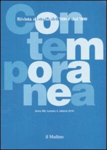Contemporanea (2010). Vol. 4 - copertina