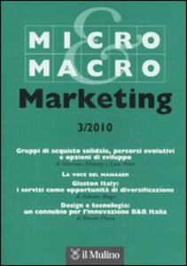 Micro & Macro Marketing (2010). Vol. 3 - copertina