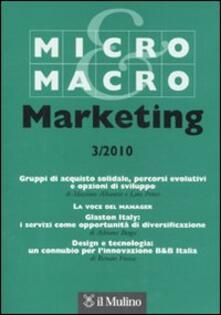 Radiospeed.it Micro & Macro Marketing (2010). Vol. 3 Image