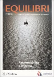 Equilibri (2010). Vol. 2 - copertina