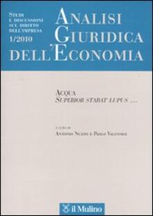 Voluntariadobaleares2014.es Analisi giuridica dell'economia (2010). Vol. 1 Image