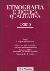 Etnografia e ricerca qualitativa (2010). Vol. 2 - copertina