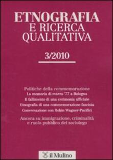 Ristorantezintonio.it Etnografia e ricerca qualitativa (2010). Vol. 3 Image