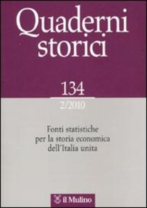 Quaderni storici (2010). Vol. 2 - copertina