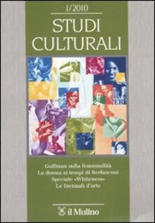 Osteriacasadimare.it Studi culturali (2010). Vol. 1 Image