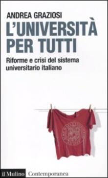 Squillogame.it L' università per tutti. Riforme e crisi del sistema universitario italiano Image