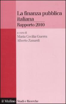 Voluntariadobaleares2014.es La finanza pubblica italiana. Rapporto 2010 Image